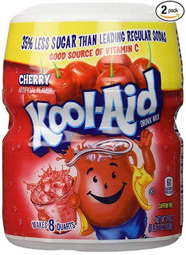 kool-ayuda cereza mix 19 oz (pack de 2)