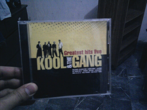 kool & the gang greatest hits live cd remato como nuevo!