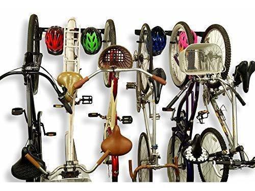 koova soporte de pared para 3 bicicletas cascos para todas l
