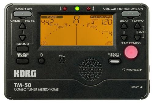 korg afinador / metronomo tm50