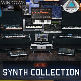 Korg Collection M1 Ms20 Polysix Wavesation Arp Odyssey Vst
