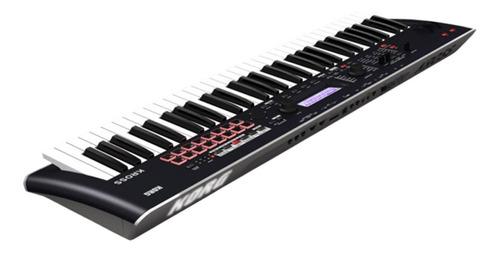 korg kross 2 61 teclas sintetizador + tijera + fuente promo