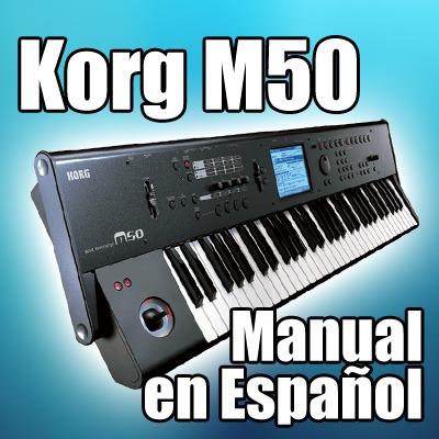 korg m50 manual en espa ol 593 paginas 50 00 en mercado libre rh articulo mercadolibre com ar Korg Sampler Korg M3