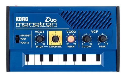 korg monotron duo sintetizador analogico nuevo garantia