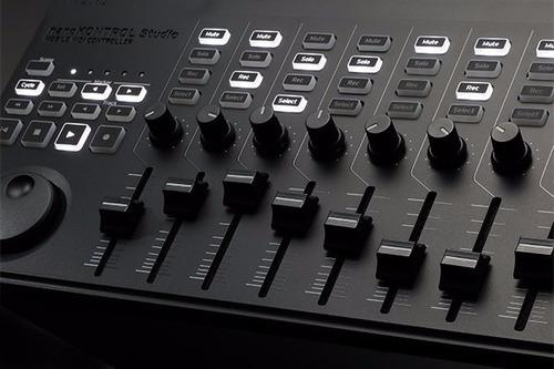 korg nano kontrol studio controlador superficie 8 faders pot