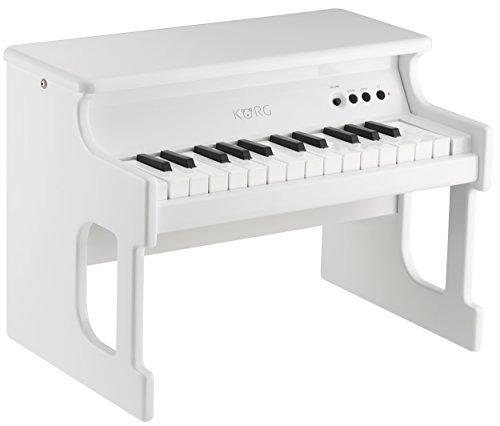 korg piano pequeño blanco