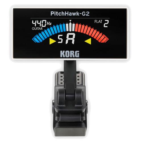 korg pitchhawk g2 wh afinador  p/ baixo guitarra violão