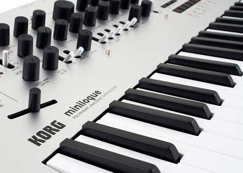 korg pro minilogue sintetizador analógico polifonico midi