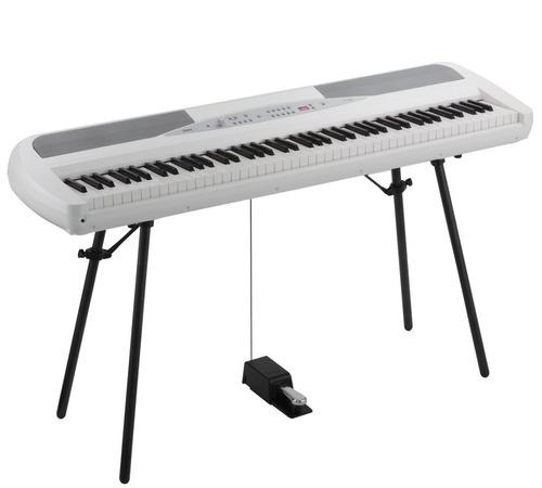 korg sp-280 blanco piano digital de escenario 88 notas