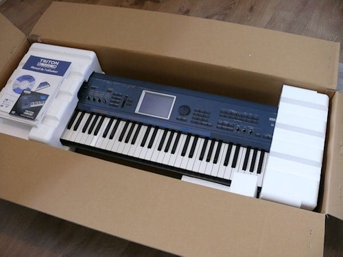 korg triton extreme 61 teclas teclado