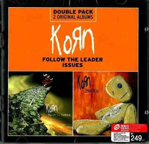 korn cd issues + follow the leader nuevo sellado original
