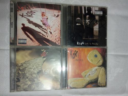 korn cds colección rock originales