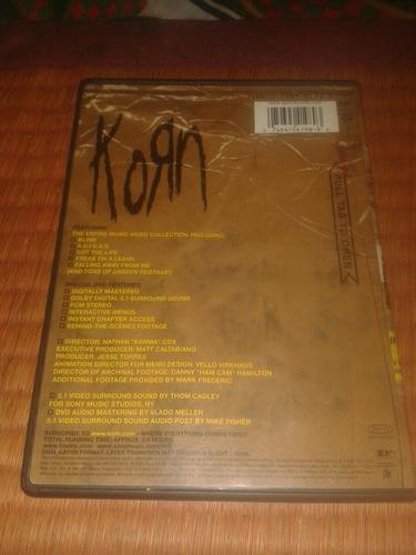 korn dvd !!!!! orginal eeuu navidad !!!!!