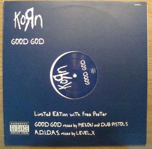 korn good good  en vinilo lp con poster edicion limitada