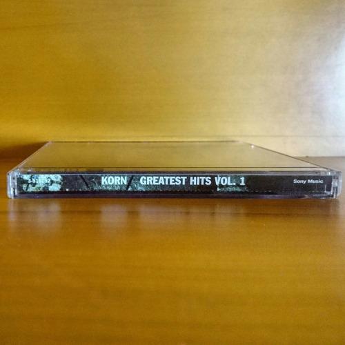 korn greatest hits vol 1 cd + dvd original nuevo y sellado
