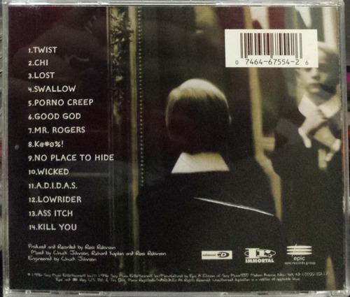 korn - life is peachy cd (1996) nu metal
