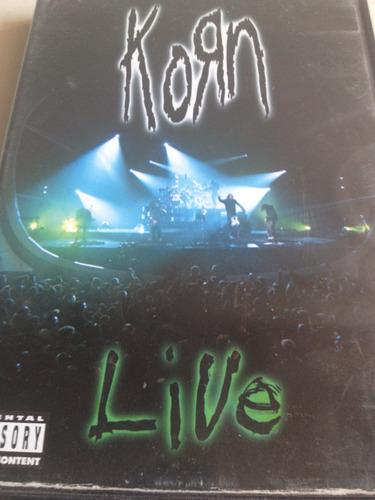 korn live 2 dvd usado nacional