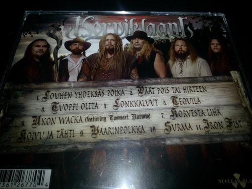 korpiklaani - ukon wacka, oz productions, folk metal