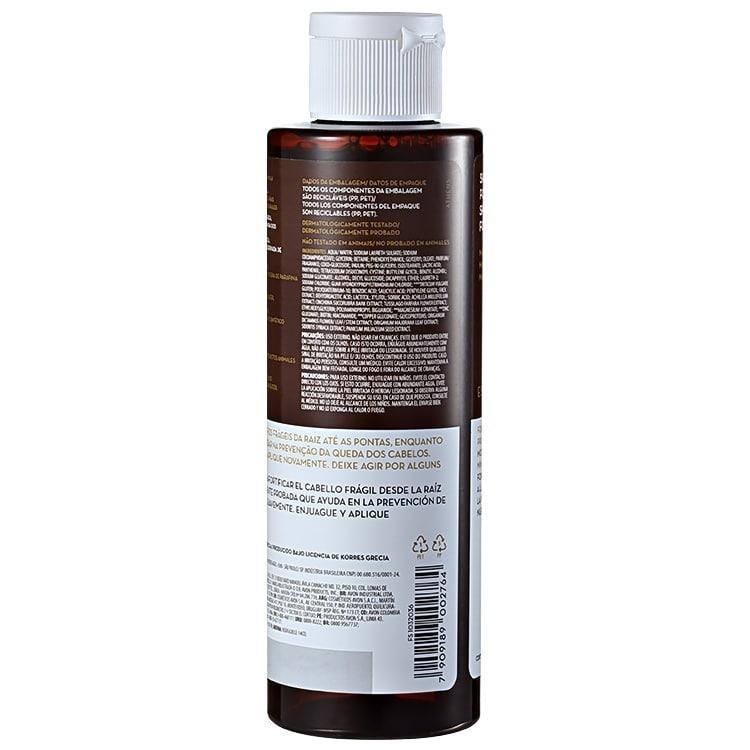 Korres Magnesium   Wheat Protein - Shampoo Sem Sulfato 250ml - R  34 ... b8521439a