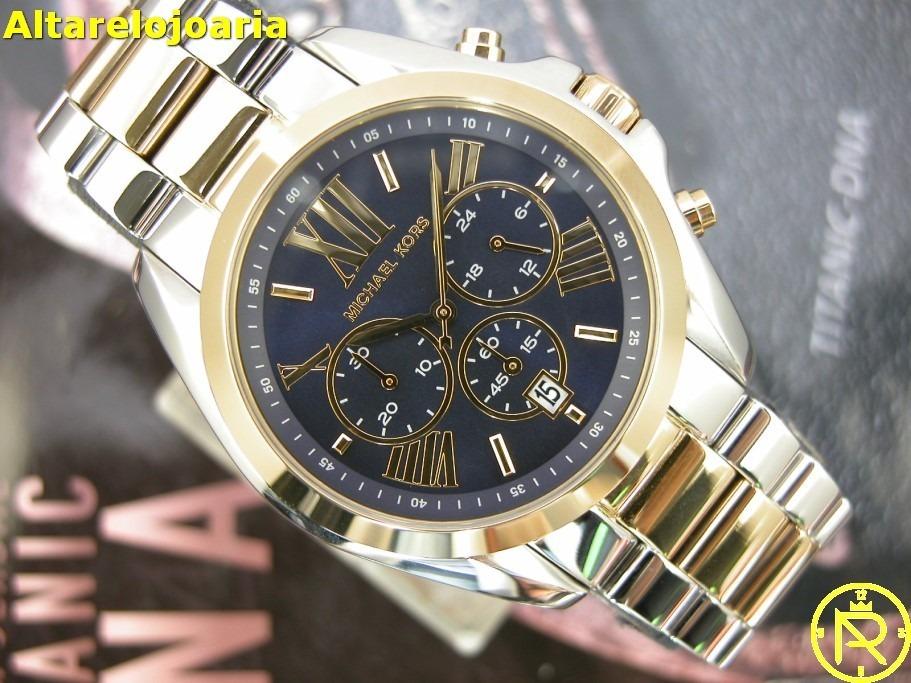 Relógio Michael Kors Feminino Mk5976 Original - R  999,00 em Mercado ... ba396dca34