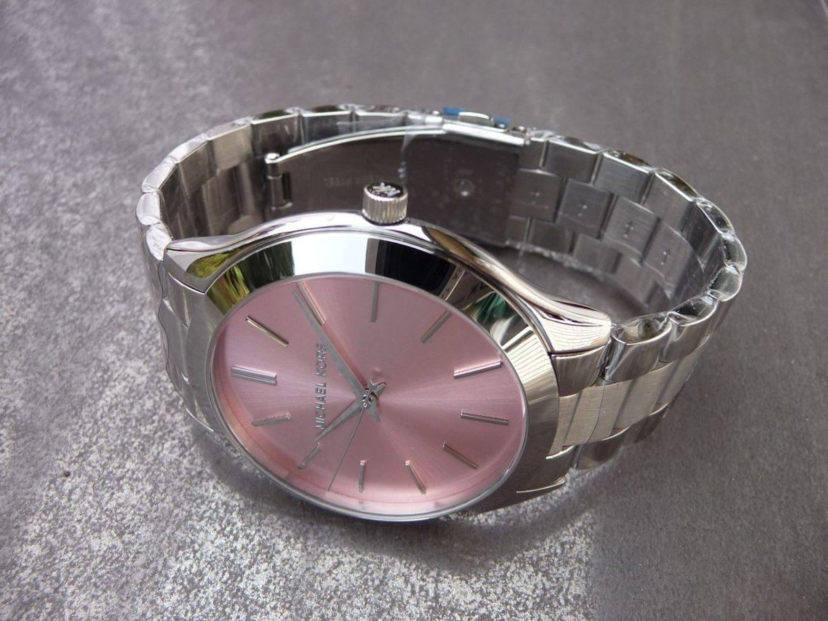 2a6df109af5 Carregando zoom... relógio michael kors mk3380 feminino original prata rosa  top