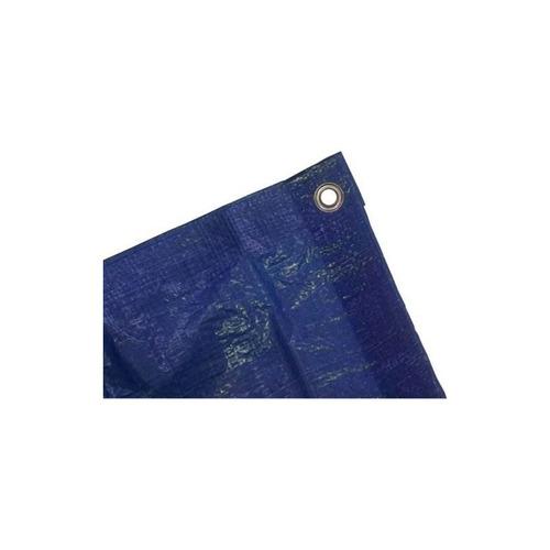 kotap - lona de poliéster azul, uso general, 12 pies x 28 pi