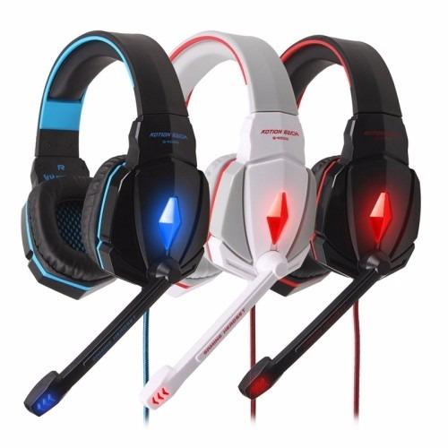 kotion each g4000 auriculares gamer led c/sonido envolvente
