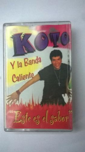 koto y la banda caliente este es el sabor, casset