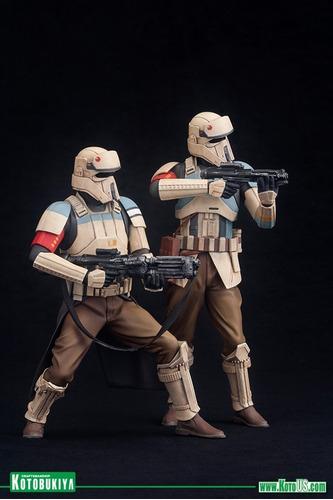 kotobukiya - artfx 1/10 - sw rogue one - shoretrooper 2 pack