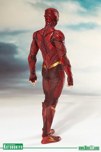 kotobukiya artfx justice league the flash 1/10 knowhere