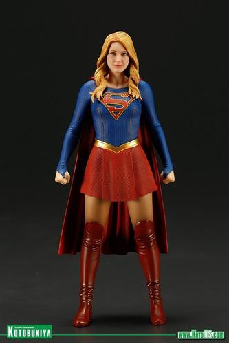 kotobukiya artfx supergirl tv series 1/10 statue - knowhere