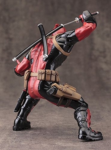 kotobukiya deadpool marvel now marvel comics estatua de artf
