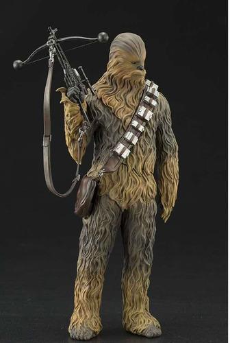 kotobukiya star wars han solo and chewbacca artfx+ statue