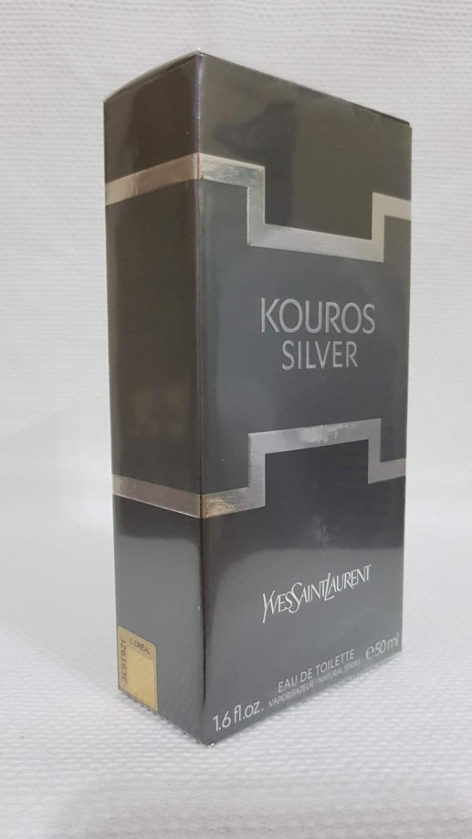 a8f2a09ae7 kouros silver yves saint laurent edt 50ml masculino. Carregando zoom.
