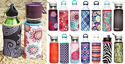 koverz - #1 neoprene 24-30 oz water bottle insulator cooler