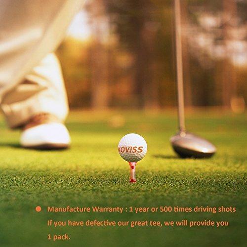 koviss flexible original pro spring vs golf tees 84,76 mm 3