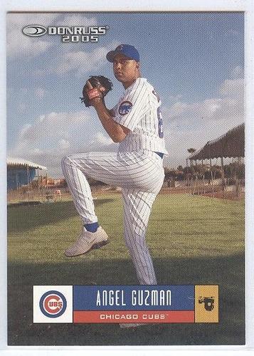 kp3 angel guzman 2005 donruss # 141 chicago