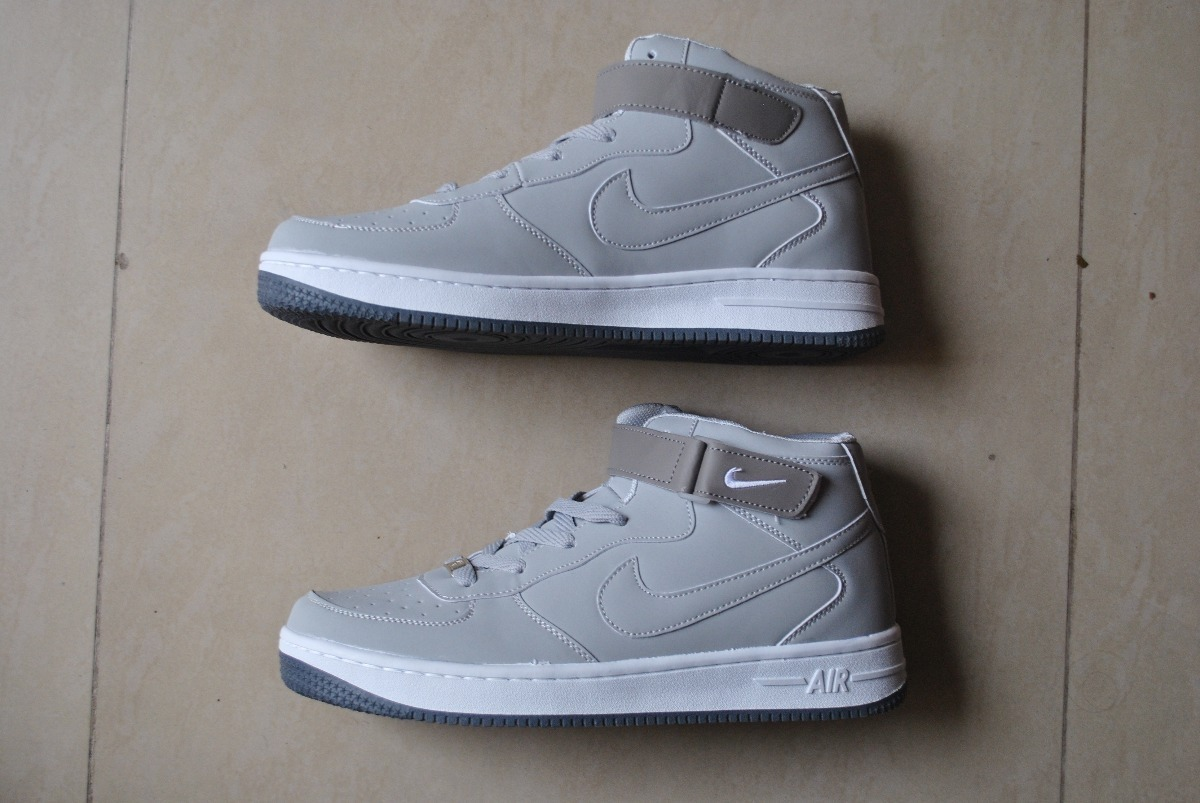6444e1ec ... spain kp3 botas nike air force one gris para caballero. cargando zoom.