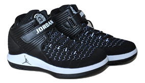 Kp3 Botas Niños Air Jordan 32 Negro Blanco