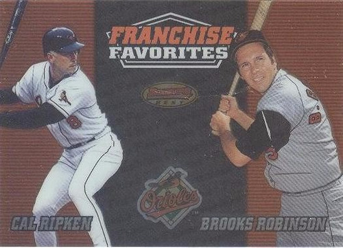 kp3 carl ripken brooks robinson 2000 bowman´s best franchise