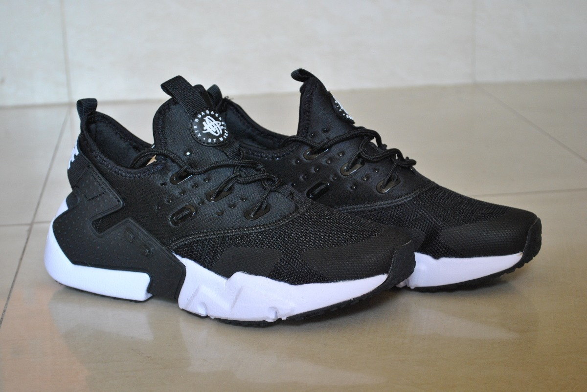 save off f509b 78130 ... canada kp3 nike air huarache drift negro blanco para damas. cargando  zoom. 34aea 907e5