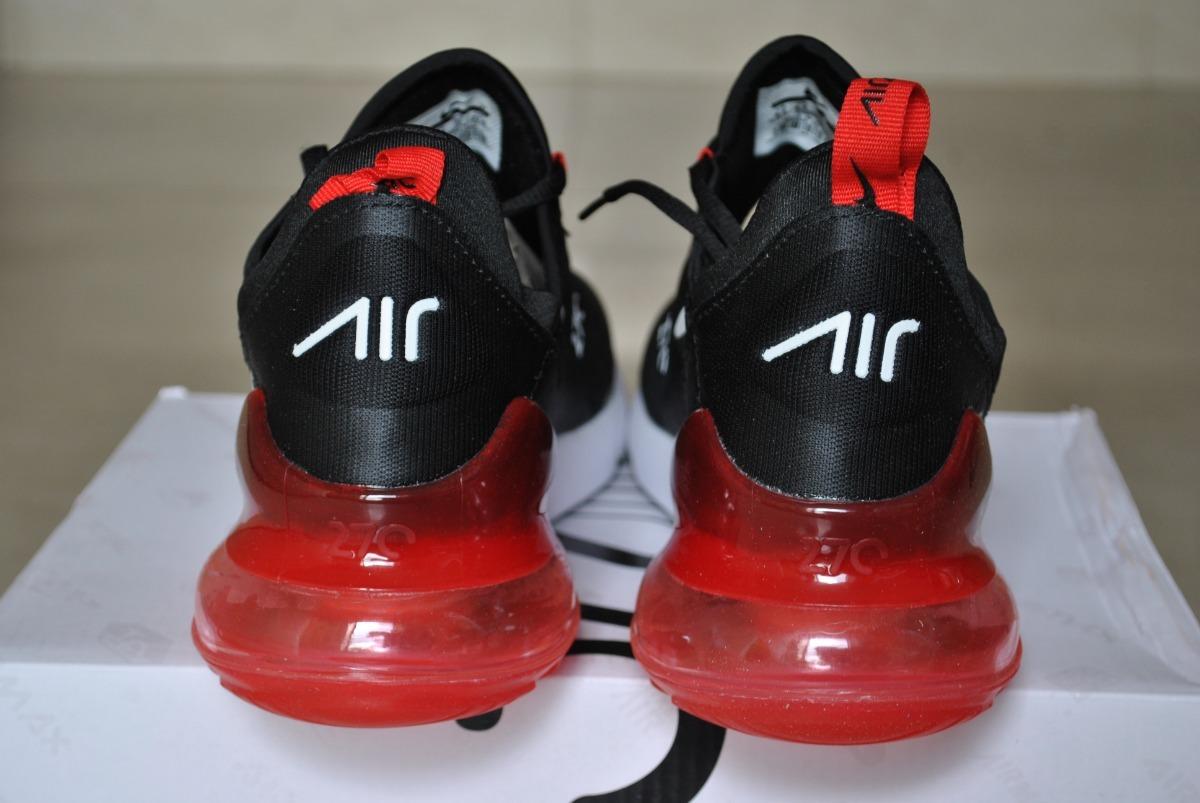 air max 270 negro rojo