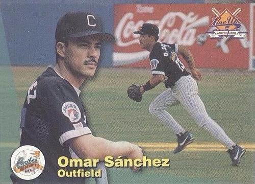 kp3 omar sanchez 1997-98 line up # 136 caribes