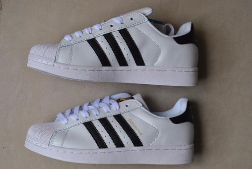 kp3 zapatos adidas superstar clásico para damas y caballeros