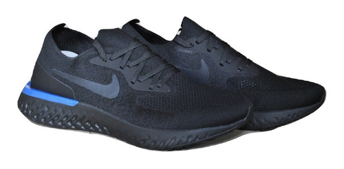 kp3 zapatos caballeros nike air epic react negro / azul