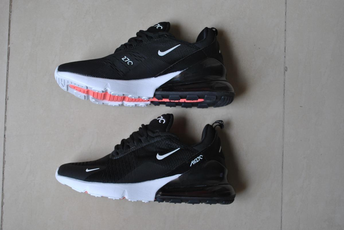 Kp3 Zapatos Caballeros Nike Air Max 270 Negro Blanco