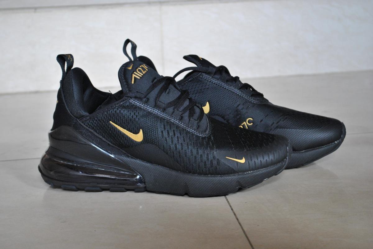 50ff7303779 CyberSport - Tenis Nike Air Max Sequent 4 Negro Dorado Unisex Ao4485 005