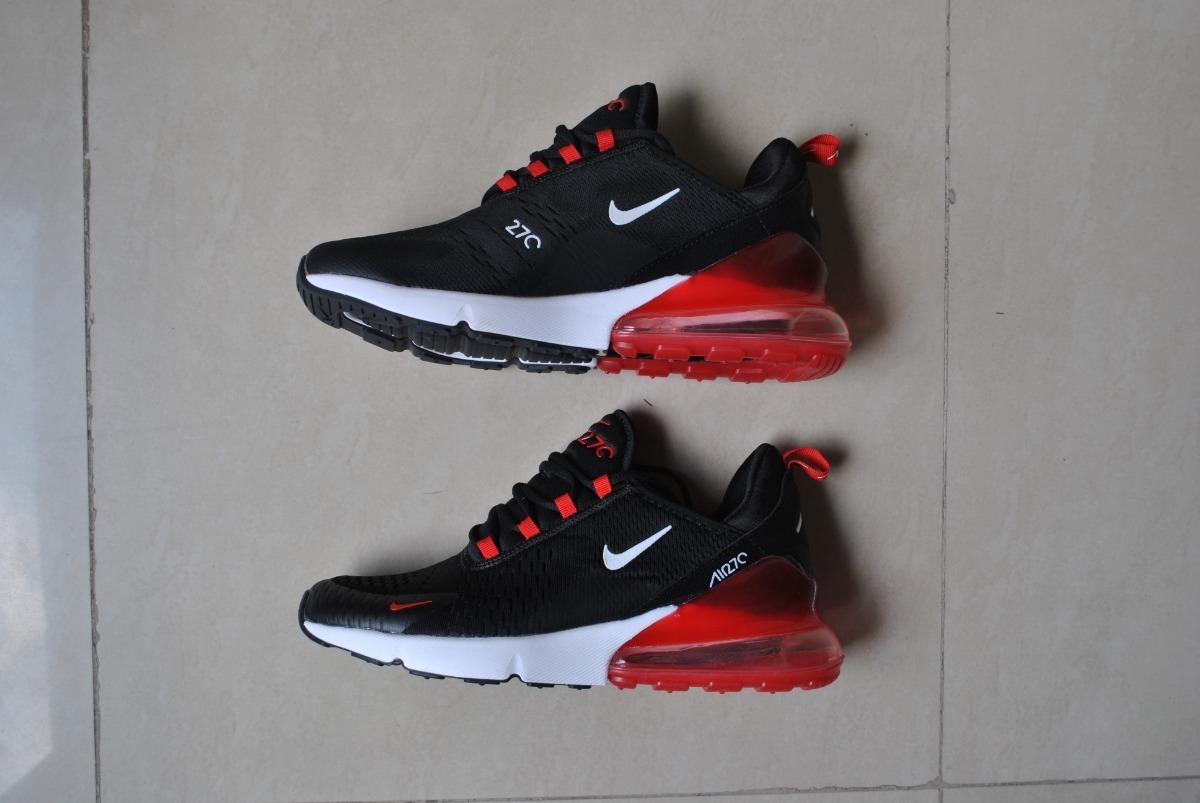 42f96fc kp3 zapatos caballeros nike air max 270 negro rojo 2