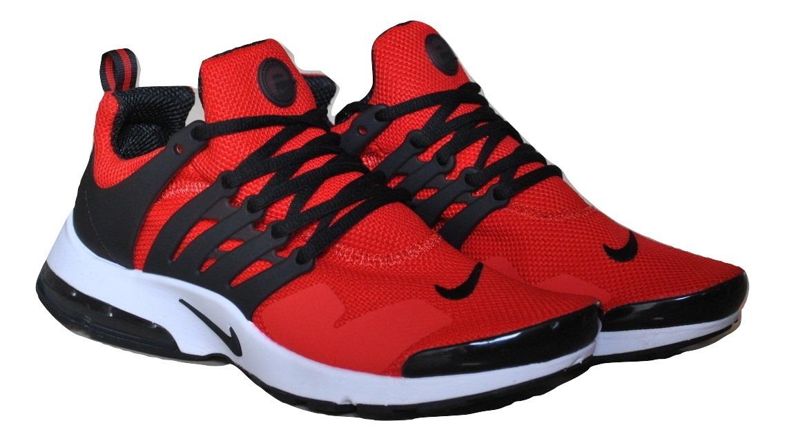 7f2c3eb100cec kp3 zapatos caballeros nike air presto clasico rojo   blanco. Cargando zoom.