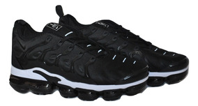 Caballeros Vapormax Ultra Negro Blanco Plus Zapatos Nike Kp3 ED9IH2